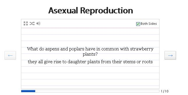 Define asexual reproduction quizlet